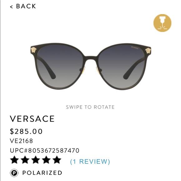 9768ef3591c9 New Versace Sunglasses. M 5a6f6e8f2ae12f78cfce650a. Other Accessories ...